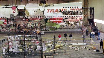 restos B747 TWA 800