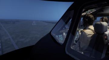 Aerodynamics simulador A320 en Málaga