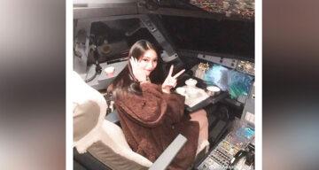 incidente china cockpit